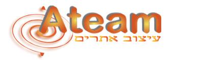 ateam  - אתר תדמיתי